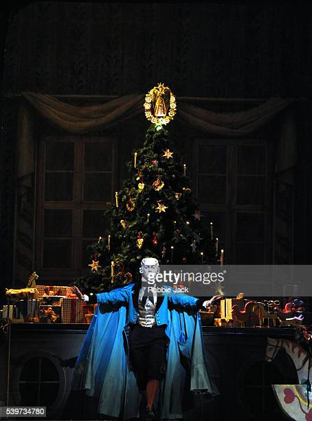 Alastair Marriott performs in the Royal Ballet's production of The Nutcracker choreographed by Peter Wright after Lev Ivanov at the Royal Opera House...