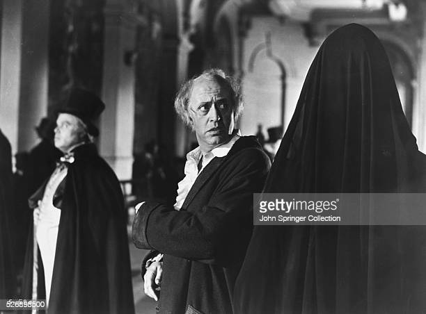 Alastair Sim stars as Ebenezer Scrooge in the 1951 motion picture A Christmas Carol