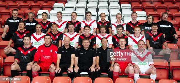 Alastair Stewart , Jim Frame , Jamie Bain, Sean Lynch, Rhys Devlin, Craig Hill, Graeme Owens, Alistair Woodburn, Chris Malone, Neil Johnston , Neil...