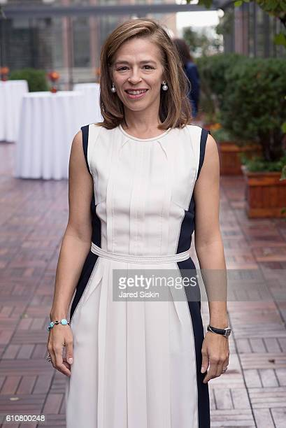 Alatia Bradley Bach attends The Hort's 4th Annual Green Family Circle Luncheon and Lecture at Midtown Loft Terrace on September 27 2016 in New York...