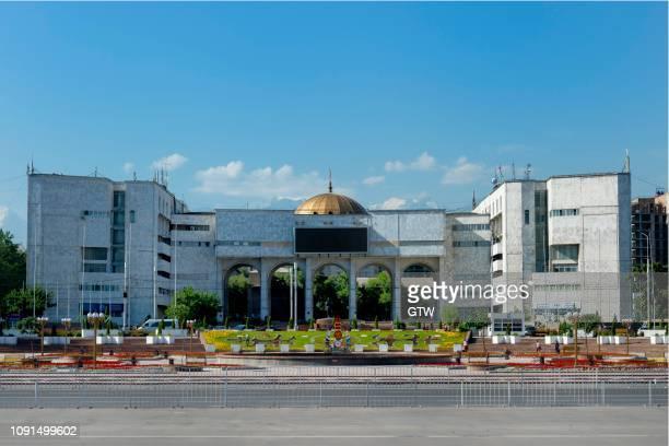 ala-too square, bishkek, kyrgyzstan - bishkek stock pictures, royalty-free photos & images