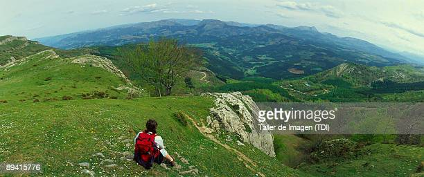 Alava Vizcaya Walker in the Gorbea Natural Park This Natural Park is located between the provinces of Vizcaya and alava around Mount Gorbeia and is...