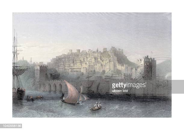Alaya 1836 Engraved by HAdlard after a picture by WHBartlett published in Syria The Holy Land Asia Minor c Illustrated London and Paris 1840