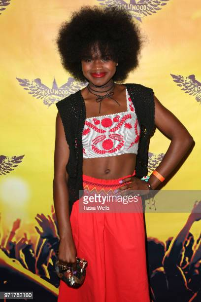 Alaya Lee Walton attends the Spreading the Love into summer event sponsored by The Rage at The Canyon Club on June 11 2018 in Agoura Hills California
