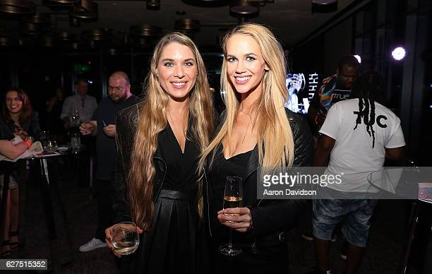 Alayna Noel and Diana Gdula attends An Evening Of Hip Hop With A Performance By Darryl DMC McDaniels on December 3 2016 in Miami Florida