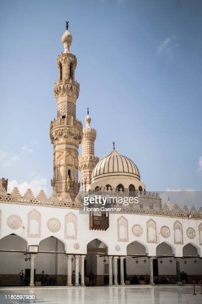 AlAzhar mosque is pictured on October 29 2019 in Cairo Egypt