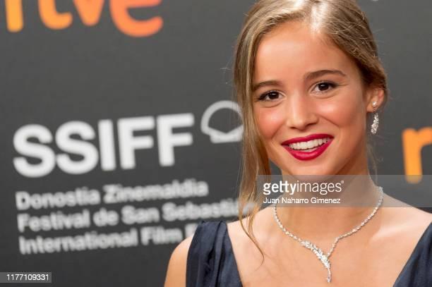Alba Baptista attends 'Patrick' premiere during 67th San Sebastian International Film Festival on September 25 2019 in San Sebastian Spain