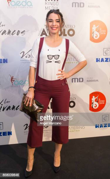 Alba Brunet attends 'Nacidos Para Bailar' Photocall at Nuevo Teatro Apolo on October 5 2017 in Madrid Spain