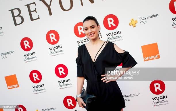 Alba Brunet during 'Beyond' Madrid Premiere on June 29 2017 in Madrid Spain