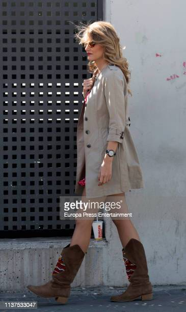 Alba Carillo is seen on March 21 2019 in Madrid Spain