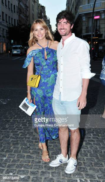 Alba Carrillo and David Vallespin attend Luis Miguel's concert on July 2 2018 in Madrid Spain