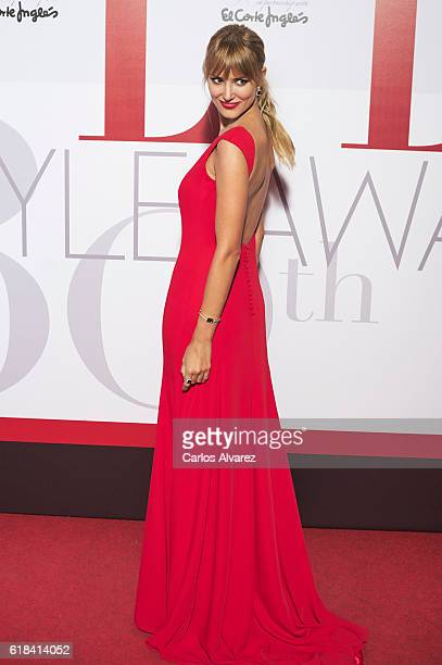 Alba Carrillo attends ELLE Magazine 30th anniversary party at Circulo de Bellas Artes Club on October 26 2016 in Madrid Spain