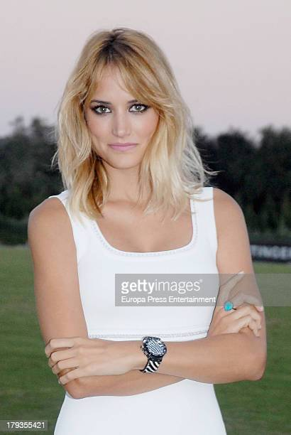 Alba Carrillo attends Land Rover Trophy delivery of 42th International Polo Tournament on August 31 2013 in Sotogrande Spain