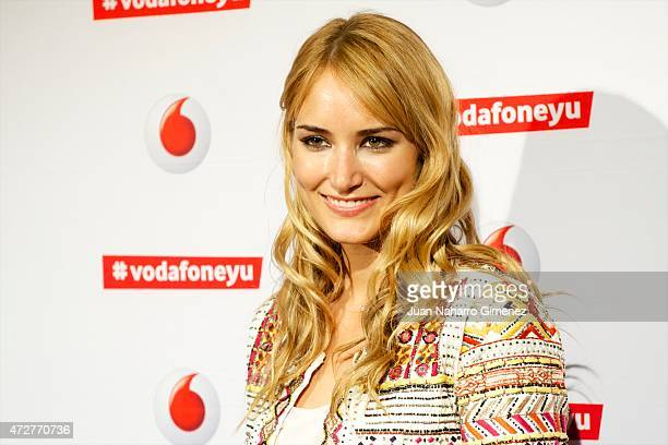 Alba Carrillo attends Maldita Nerea concert during Vodafon Yu Music Shows at La Riviera on May 9 2015 in Madrid Spain