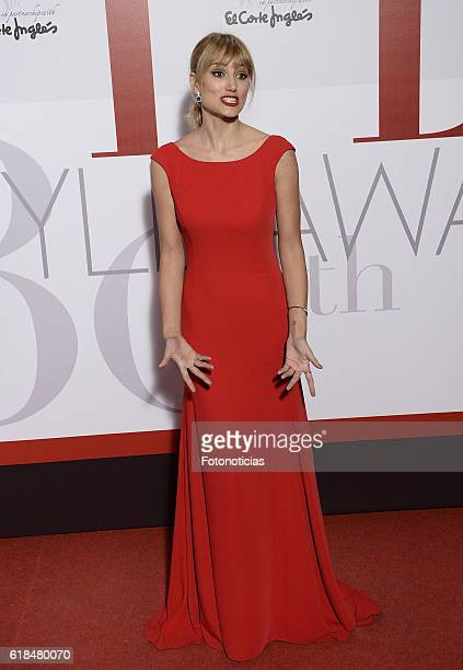 Alba Carrillo attends the ELLE 30th anniversay party at the Circulo de Bellas Artes on October 26, 2016 in Madrid, Spain.