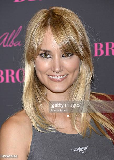 Alba Carrillo attends the launch of 'Alba Carrillo for Brownie' collection at Brownie boutique on September 4 2014 in Madrid Spain