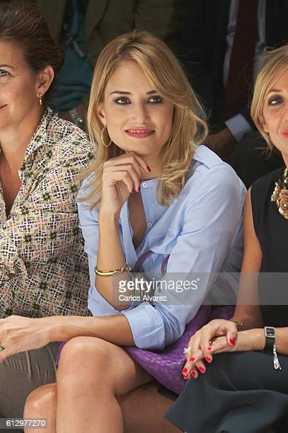 Alba Carrillo attends 'The Petit Fashion Week' 2016 at Palacio de Cibeles on October 6 2016 in Madrid Spain