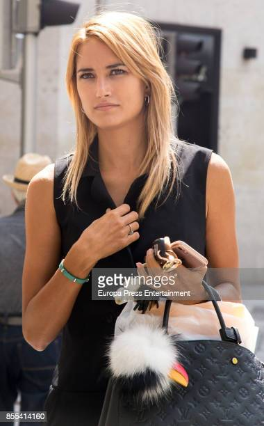 Alba Carrillo is seen on August 31 2017 in Madrid Spain