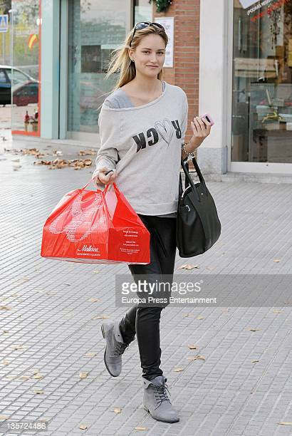 Alba Carrillo is seen on December 13 2011 in Madrid Spain