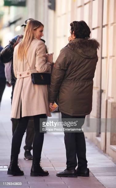Alba Carrillo is seen on February 13 2019 in Madrid Spain