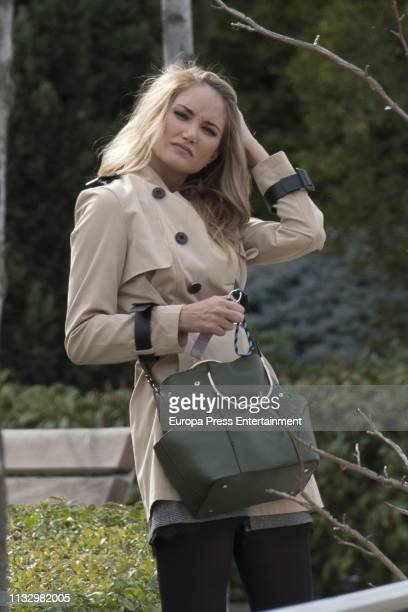 Alba Carrillo is seen on February 28 2019 in Madrid Spain