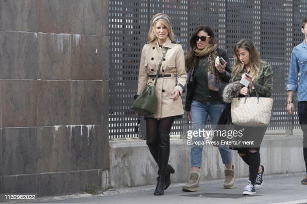 Alba Carrillo is seen on February 28 2019 in Madrid Spain
