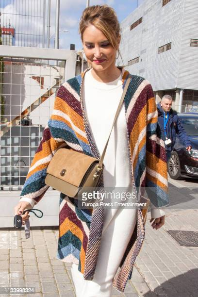 Alba Carrillo is seen on March 05 2019 in Madrid Spain