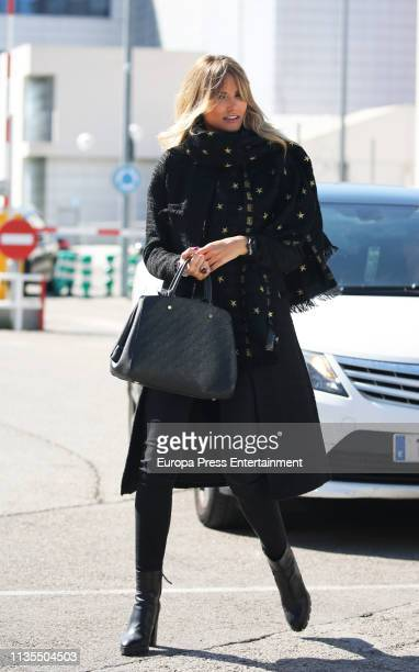 Alba Carrillo is seen on March 12 2019 in Madrid Spain