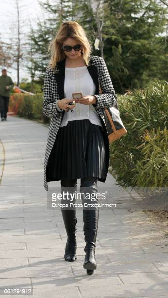 Alba Carrillo is seen on March 30 2017 in Madrid Spain
