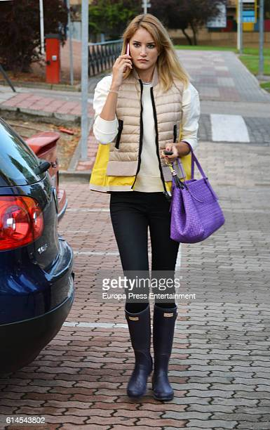 Alba Carrillo is seen on October 13 2016 in Madrid Spain
