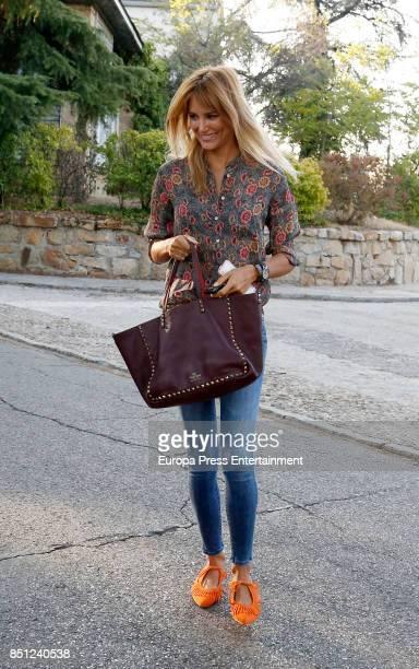Alba Carrillo is seen on September 21 2017 in Madrid Spain