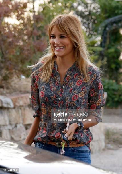 Alba Carrillo is seen on September 21 2017 in Madrid Spain