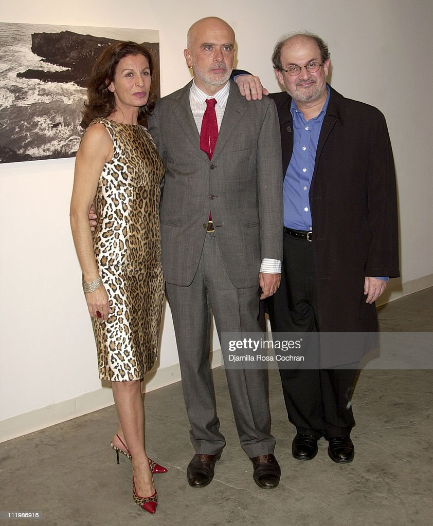 Alba Clemente, Francesco Clemente and Salman Rushdie