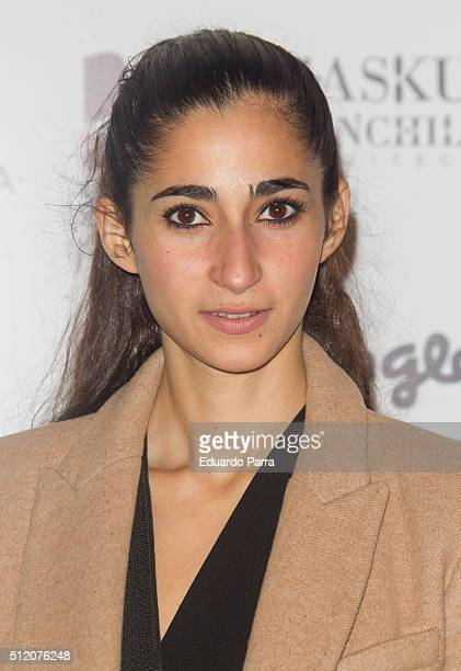 Alba Flores attends ARCO cocktail party at Ifema on February 24 2016 in Madrid Spain