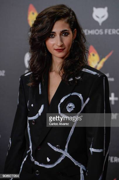 Alba Flores attends Feroz Awards 2018 at Magarinos Complex on January 22 2018 in Madrid Spain