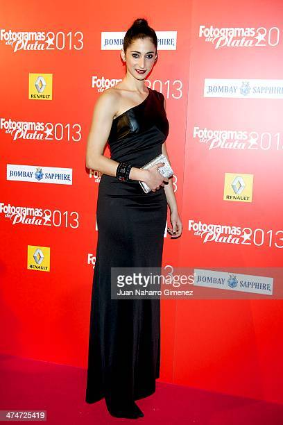 Alba Flores attends 'Fotogramas Awards' 2013 at Teatro Joy Eslava on February 24 2014 in Madrid Spain