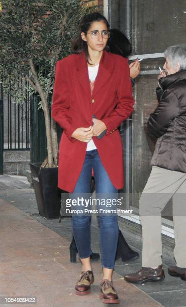 Alba Flores attends her 32th birthday party on October 28 2018 in Madrid Spain