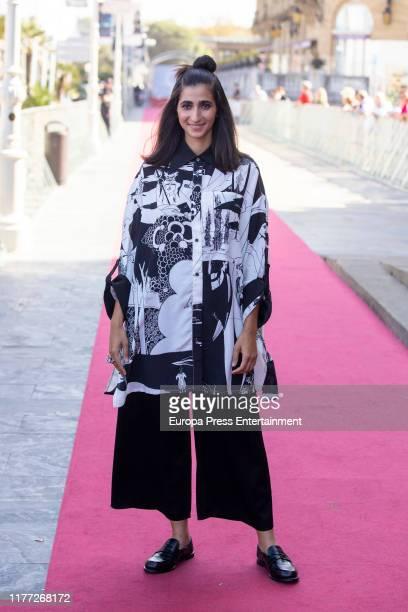 Alba Flores attends 'Sanctuary ' premiere at 67th San Sebastian Film Festival on September 26, 2019 in San Sebastian, Spain.