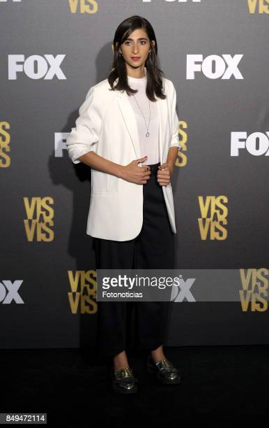 Alba Flores attends the Fox Networks new season presentation at the Cuartel del Conde Duque on September 19 2017 in Madrid Spain