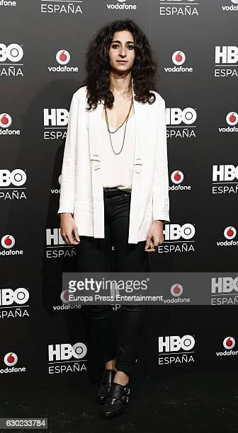 Alba Flores attends the HBO Spain PresentationPremiere at Florida Retiro on December 16 2016 in Madrid Spain