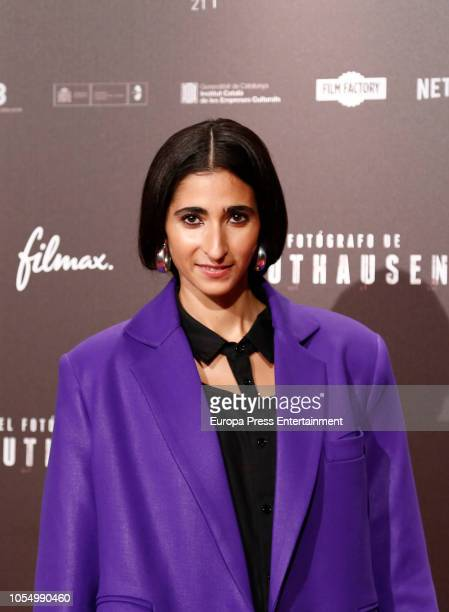 Alba Flores attends the Premiere 'El Fotografo de Mathausen' at the Capitol cinema on October 25 2018 in Madrid Spain