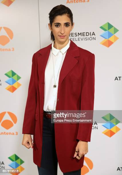 Alba Flores attends the presentation of the tv serie 'La Casa de papel' on October 4 2017 in Madrid Spain