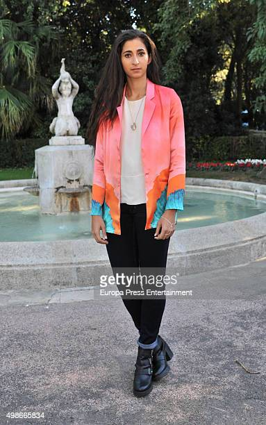 Alba Flores attends the reception to the Onda Awards 2015 winners photocall on November 24 2015 in Barcelona Spain