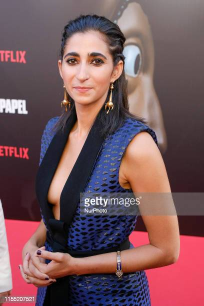 Alba Flores attends the red carpet of La Casa de papel 3rd Season by Netflix on July 11 2019 in Madrid Spain