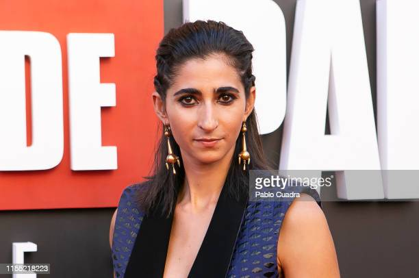 Alba Flores attends the red carpet of 'La Casa De Papel' 3rd Season by Netflix on July 11 2019 in Madrid Spain