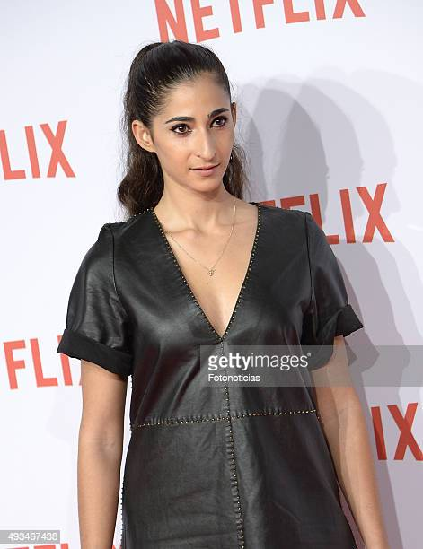 Alba Flores attends the red carpet of Netflix presentation at the Matadero Cultural Center on October 20 2015 in Madrid Spain