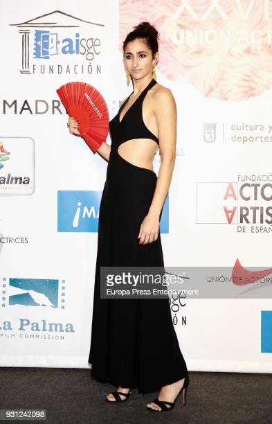 Alba Flores attends the Union de Actores Awards at the Circo Price on March 12 2018 in Madrid Spain
