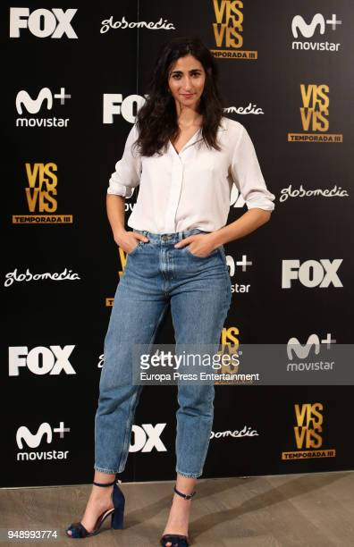 Alba Flores attends the 'Vis A Vis' photocall at VP Plaza de Espana Hotel on April 19 2018 in Madrid Spain