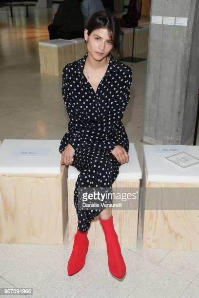 Alba Galocha attends Max Mara Resort Show 2019 at Collezione Maramotti on June 4 2018 in Reggio nell'Emilia Italy