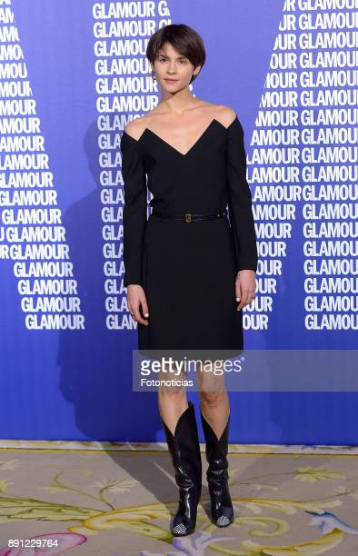 Alba Galocha attends the Glamour Magazine Awards and 15th anniversary dinner at The Ritz Hotel on December 12 2017 in Madrid Spain